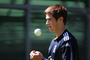 Chris Woakes playing cricket and whatnot