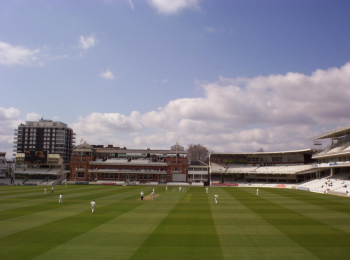 Lord's, on a quieter day