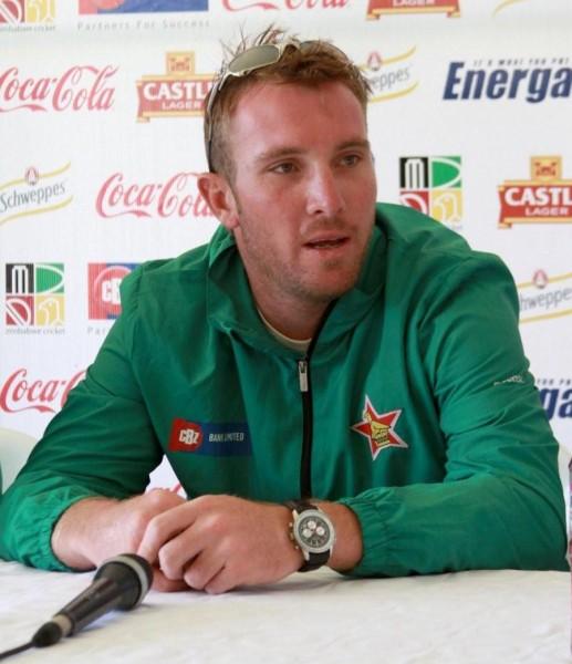 Zimbabwe captain Brendan Taylor