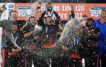 Friends life T20 winners
