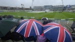 Rain at the cricket
