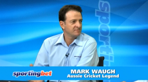 After dismissing Crawley in the first innings Mark Waugh found it hard to come to terms with his new life.