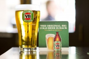 Victoria Bitter: back to its best, apparently. Other beers are available, i.e. ones that don't taste like petrol.