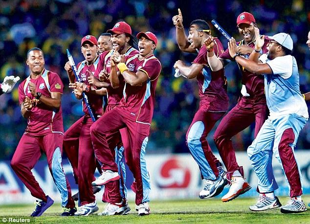 The West Indies boys enjoyed Dave Stewart's headline set.