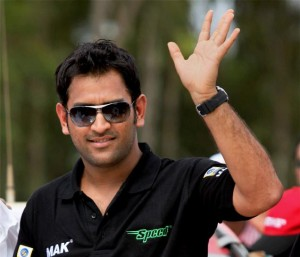 MS Dhoni waves his reputation off into the sunset