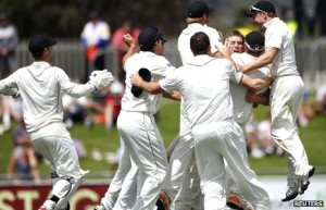 The elusive New Zealand celebration, seen here in all its glory for the first time
