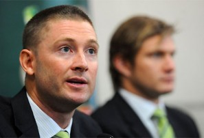 Shane Watson practices his indifference face, just in case the opportunity to use it came along in the near future.