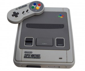 In the beginning God created the Super Nintendo. And it was good.