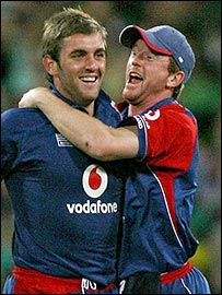 One of the greatest England cricketers of the age. And Paul Collingwood.