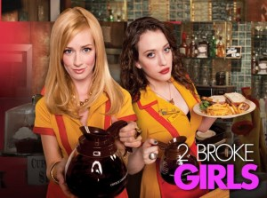 Apropos of nothing, here's a picture of 2 Broke Girls.