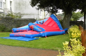 This bouncy castle served as the perfect metaphor for Australian cricket once Samit had worked his magic.
