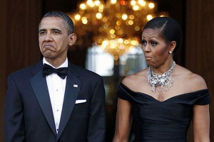 The Obamas took a keen interest in the Champions Trophy.