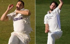 England's bowling options. Not pictured: Finn, Steve