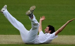 Even lying down, he'd have been bloody brilliant today.
