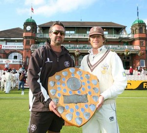 Salisbury wasn't overly pleased to receive his award for being the worst bowler in Test history.