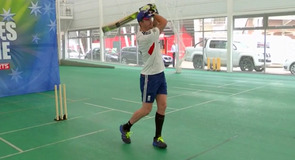 The knee-length sock-wearing masterclass with Kevin Pietersen was a success.