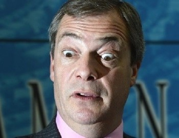 Nigel Farage reacts to the YB40 rankings.