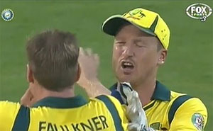 """""""Hey it's Faulkner, you nearly gave me a 'eart attack."""""""