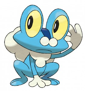 Don't let his innocent demeanor fool you. Froakie is a stone cold killer.