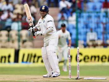 Sachin bowled again