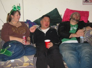 Think they are a wacky lot on air? You should see the after parties.