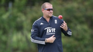 Agent Saker ponders whether he can get Jimmy Anderson to bowl backwards.
