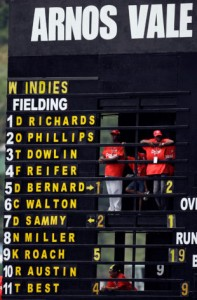 The West Indies now: not so great.