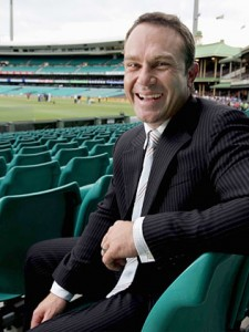 And coming in at number one on the things we like about the Big Bash list; that this utter prick isn't involved.