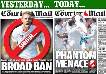 The Courier Mail is a bit shit