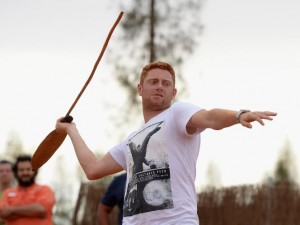 It took Bairstow a while to remember what a batsman is meant to do.