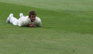 Liam Plunkett digs his own hole.