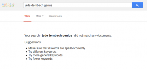 Not this search term, obviously.
