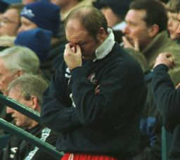 Steve McMahon clearly tried the County Ground's chips as well.