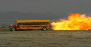 Or this exact bus, whichever.