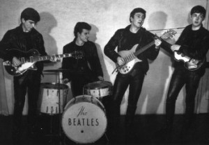 Turns out he used to drum for The Beatles! Who knew?