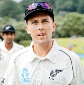 My name is Trent Boult, destroyer of worlds. Look upon my works ye mighty and despair.