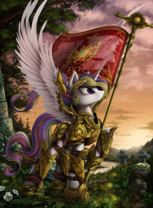 A quick google search suggests that this is what a Paladin looks like. Which isn't quite what we expected.