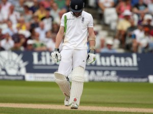 Sam Robson realises he still has 8,635 runs to go.