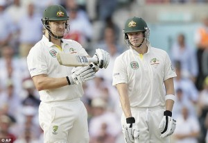 """Having completed batting, Devereux moves on to practicing his captaincy """"oh fuck off"""" face."""