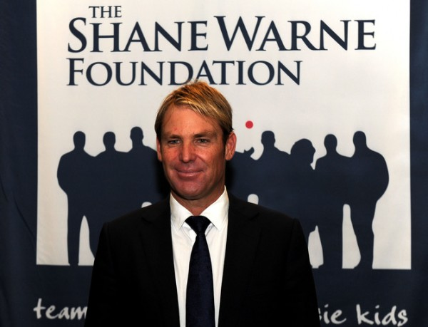 Shane Warne at The Shane Warne Foundation Ashes lunch at the Crown Palladium in Melbourne, Thursday, Dec. 19, 2013. (AAP Image/Mal Fairclough) NO ARCHIVING