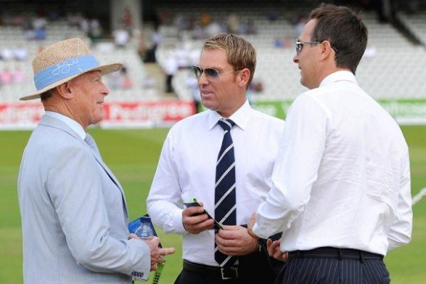 Competitors mingle ahead of the Telegraph's annual dickhead-off.