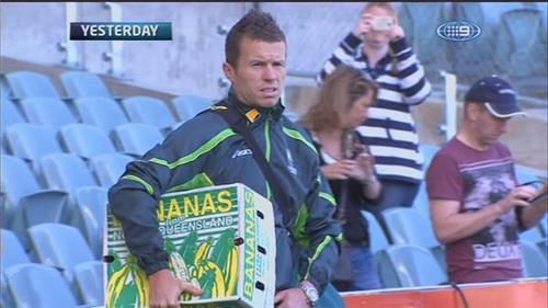Despite a strict regime of half a plantations worth of bananas a day, there was no way Siddle was backing up for the WACA Test.