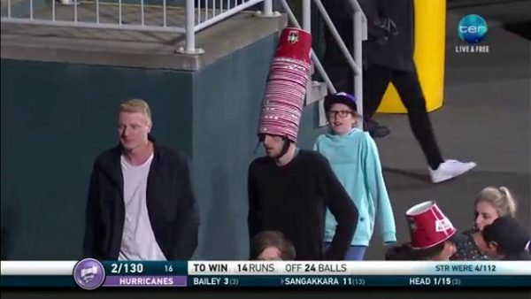 The Big Bash personified.