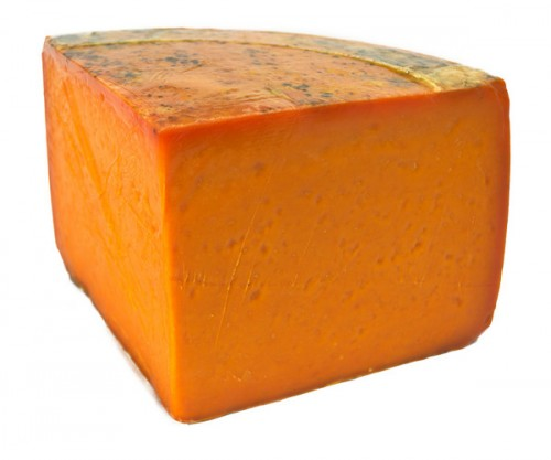 Like a nice hunk of Red Leicester.